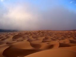 Tormenta de arena en Merzouga (foto: Paco Lozano)