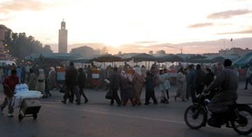 Plaza de la Yemaa el-Fna, Marrakech, Marruecos (fotografía: Paco Lozano)