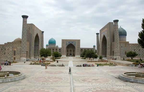 Uzbekistán: Samarcanda